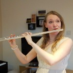Faith Wasson, flutist